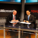 Microsoft and Toyota Meet in Redmond to Announce Strategic Partnership